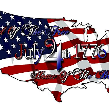 Land Of The Free Home Of The Brave by xzendor7