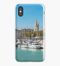 Yachts in the old port of La Rochelle  iPhone Case
