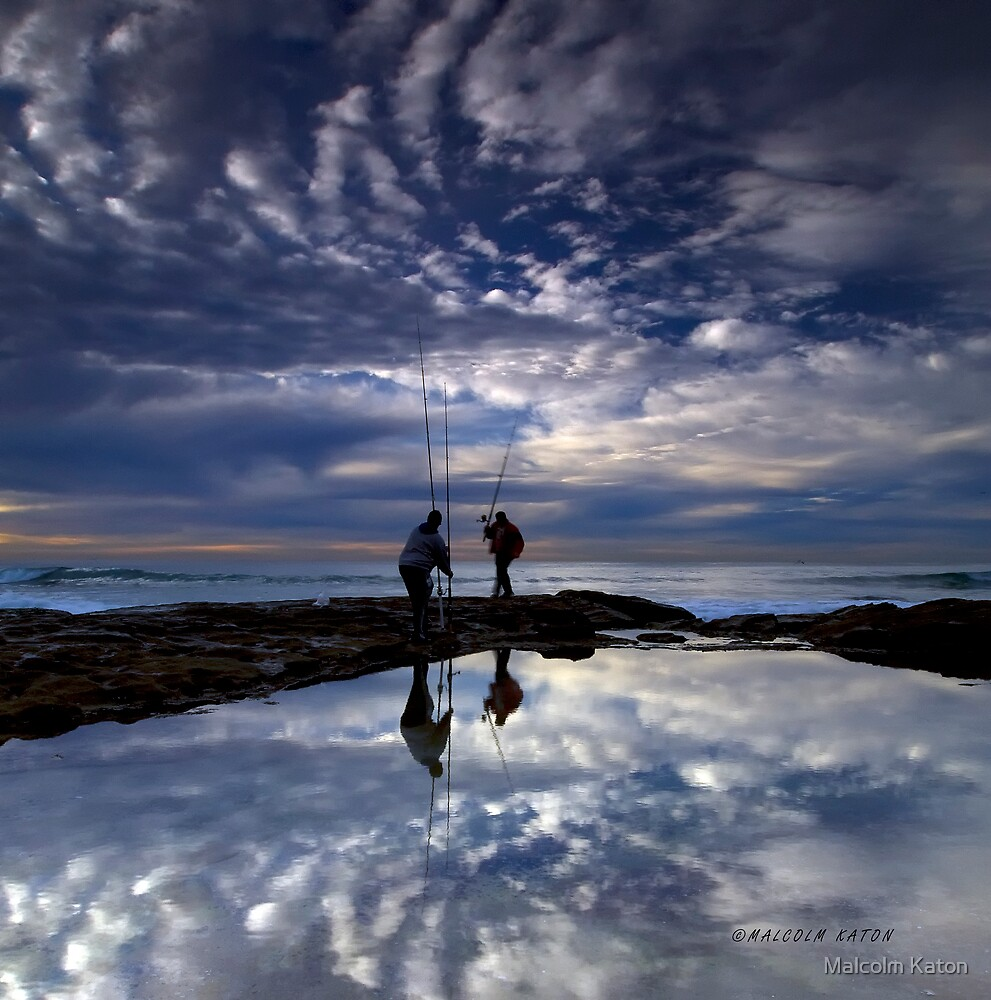 Fishing for Angels, Cronulla NSW by Malcolm Katon
