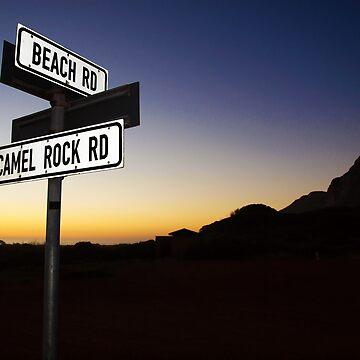 Beach Road Sunset by zuluspice
