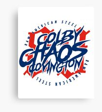 Colby 'Chaos' Covington: Raw American Steel Canvas Print