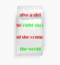 Funny Slogan T-Shirts Duvet Cover