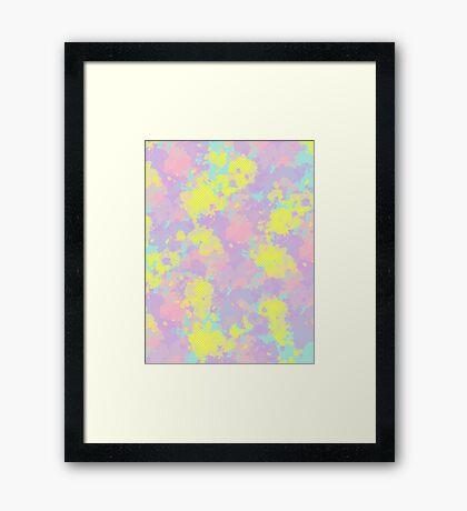 Somewhere #redbubble #abstractart Framed Print