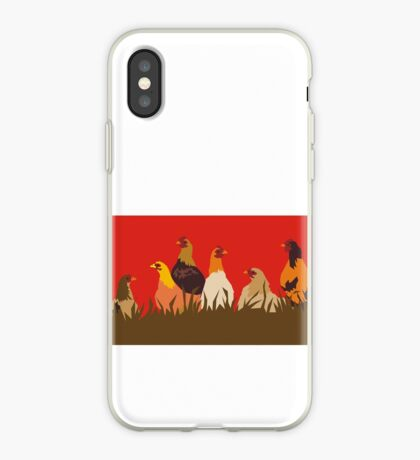 Chooks iPhone Case