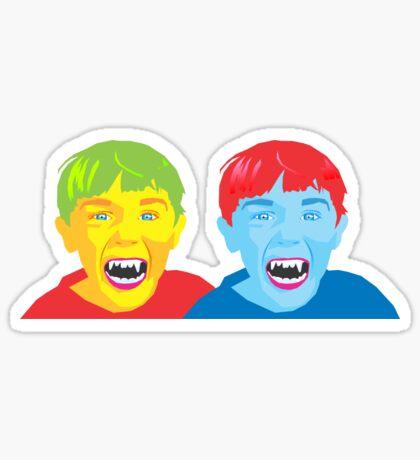 Vampire Twins Sticker