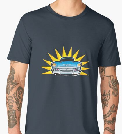 57 Chev Men's Premium T-Shirt