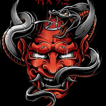 Hannya Red ver. by BlackoutStore