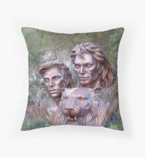 Siegfried & Roy Throw Pillow