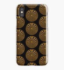 Man in the Maze, Journey through life, I'itoi, Papago iPhone Case