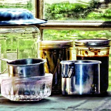 Canning Jars and Flour Sifters by SudaP0408