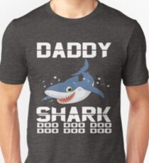 Baby Mommy Daddy Shark Matching Family Shirts- The Shark Family Apparel Unisex T-Shirt