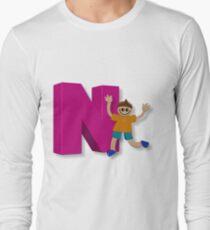 Letters - Boy - YWZM 10 Long Sleeve T-Shirt