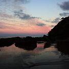 Etty Bay Sunset by Ron  Wilson