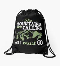 Mochila de cuerdas Las montañas están llamando y debo ir