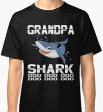 cd369d54 Mens grandpa Shark Doo Doo Doo T-Shirt   Matching Family Shirt Classic T-