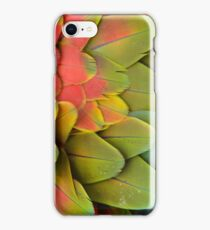 Parrot feathers iPhone Case/Skin