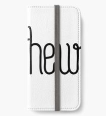 Hey Matthew this is perfect for you iPhone Wallet/Case/Skin