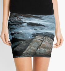 Ocean Point Cloudy Sunrise Mini Skirt