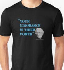 Noam Chomsky Quote Unisex T-Shirt