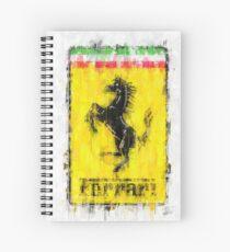 Ferrari Logo Spiral Notebook