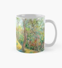 Girl in the Woods in the style of Renoir Mug