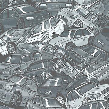 ComicsCars_Vol.1 by SprayPatrick
