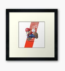 Super Smash Bros. Ultimate - Mario Framed Print