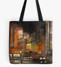 Alone in the City Tote Bag