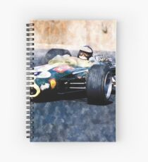 Jim Clark Lotus Spiral Notebook