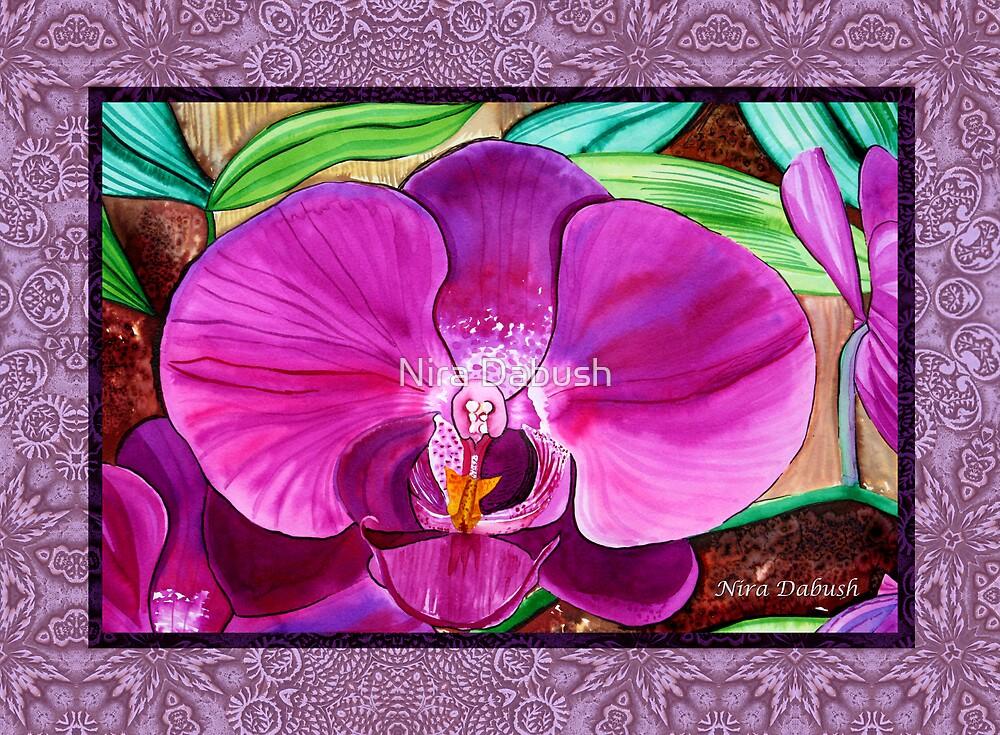 Passion of Orchids by Nira Dabush