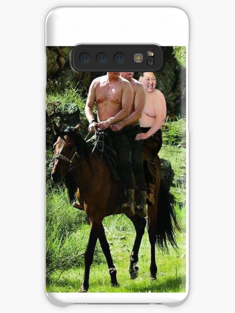 Putin Donald Trump and Kim Jong Un iphone case