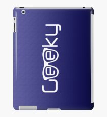 Geeky B iPad Case/Skin