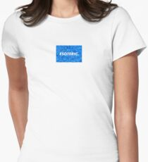 ESOTERIC. - BLUE WATER Women's Fitted T-Shirt