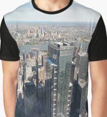 Manhattan, #Manhattan, New York, #NewYork, NYC, #NYC, New York City, #NewYorkCity Graphic T-Shirt