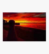 """Rippleside Dawn"" Photographic Print"