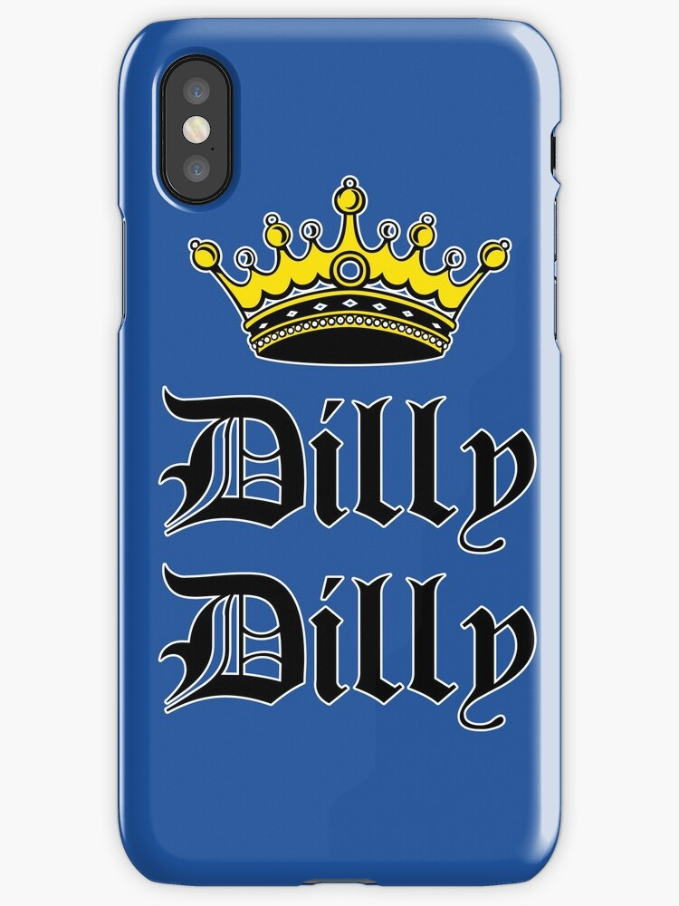 Dilly Dilly Crown Olde English Blue