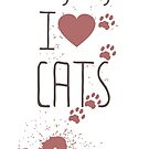 I love cats by Anna R. Carrino