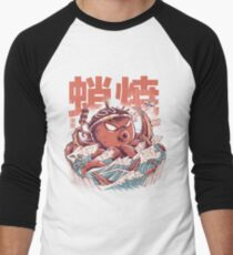 Takoyaki Attack Baseball ¾ Sleeve T-Shirt
