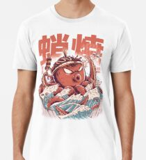 Camiseta premium para hombre Ataque Takoyaki