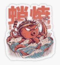 Takoyaki Attack Transparent Sticker
