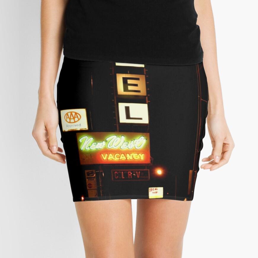 New West Motel Mini Skirt
