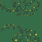 Little Flowers - Yellow by Rose Sherman