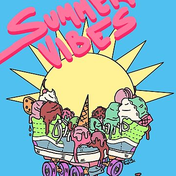 Summer Vibes Ice Cream Trux (full design) by DixxieMae