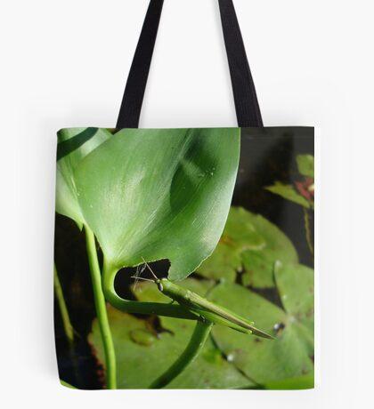 Handsome Meadow Katydid Tote Bag
