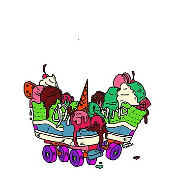 Ice Cream Trux (full color) by DixxieMae