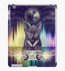 DJay Gray Cat Paws - Fire In The Party! - Music HDR Flyer V.01 By JCDesigner-USA iPad Case/Skin