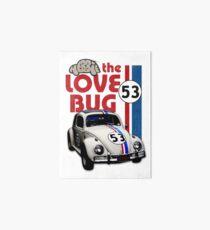 Herbie The Love Bug Art Board
