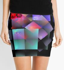 'Cryptic Question' Mini Skirt