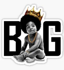 Small The Notorious B.I.G - Black Sticker