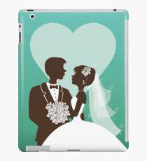 Wedding invitation design iPad Case/Skin